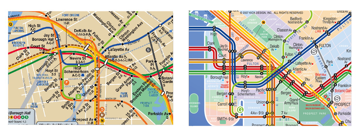 Map Of Brooklyn Neighborhoods With Subway